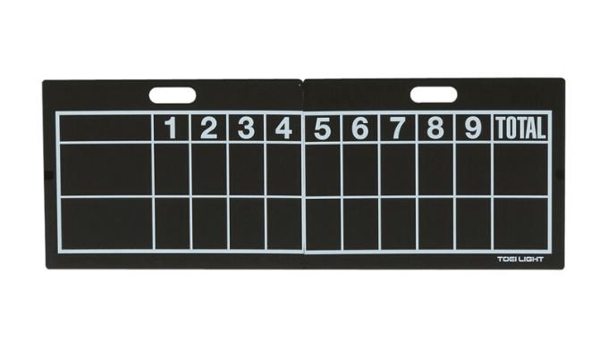 野球スコアボードとは?「B」や「R」などの見方は?おすすめ人気